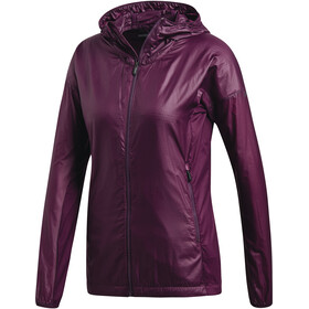 adidas TERREX Agravic Alpha Jacket Women Red Night
